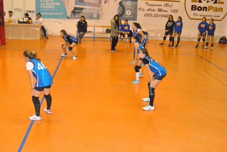 Polisportiva M Bari, Volley giovanile: Under 14 femminile, pronto riscatto!