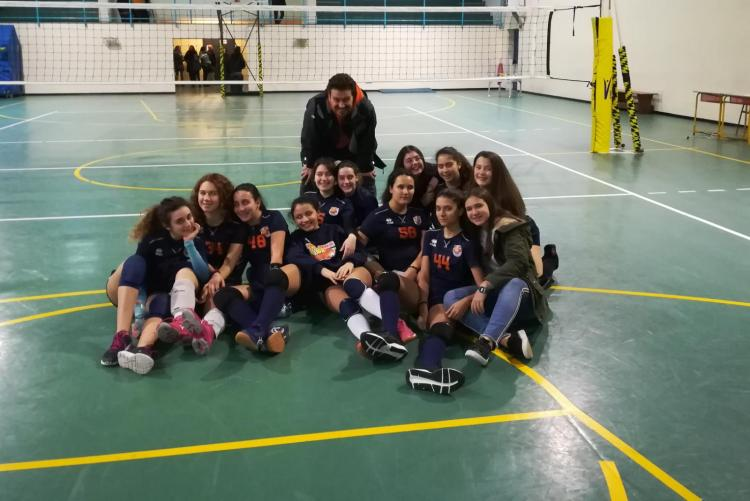 Polisportiva M Bari, Volley: Under 14 F, dominio in pool B